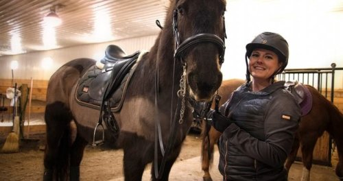 Shevchenko turns amputation into inspiration for Paralympic dressage dream
