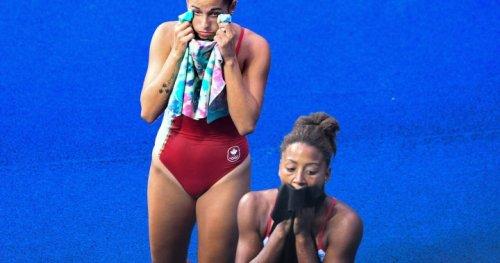Canada's Jennifer Abel and Pamela Ware advance to semi-finals in 3m springboard event - Montreal | Globalnews.ca