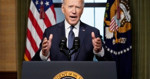 Biden to pull remaining U.S. troops from Afghanistan, end America's longest war