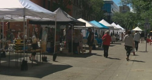 Al Fresco outdoor market back for 2nd year in downtown Edmonton