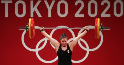 Maude Charron wins weightlifting gold for Canada at Tokyo Olympics - National   Globalnews.ca