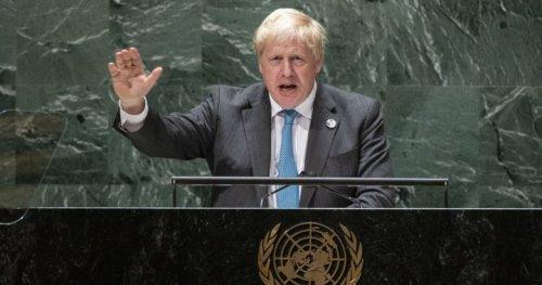 U.K.'s Boris Johnson says humanity needs to 'grow up,' face climate crisis at U.N. - National   Globalnews.ca