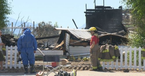 South Okanagan church fires: RCMP reviewing video of dark-coloured truck leaving scene