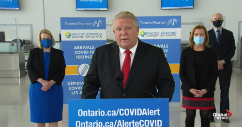 Ontario is consulting medical experts on return to in-class learning, Doug Ford says