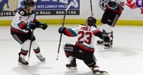Junior hockey: Rockets torch Blazers 6-1, score 5 goals in 1st period