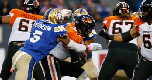 Bombers tame BC Lions 45-0, clinch western final berth at IG Field | Globalnews.ca