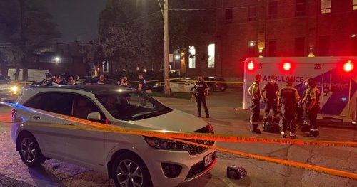 Pedestrian without vital signs after being hit by truck in Toronto's Port Lands: police - Toronto | Globalnews.ca