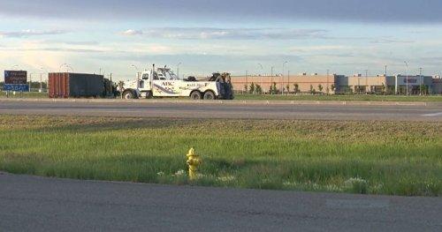 Collision near Costco in Regina sends one person to hospital: police