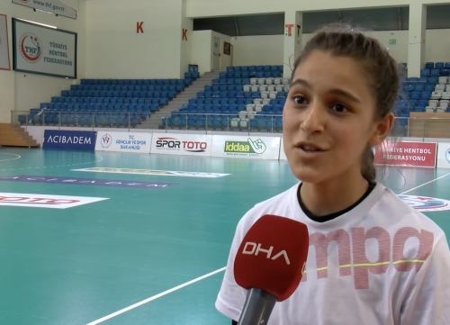 In Turkey, 13-year-old girl challenges stereotypes in athletics