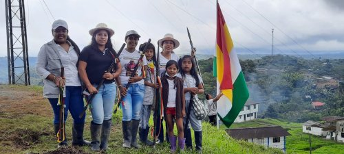 Indigenous peoples join the national struggle in Colombia's strike