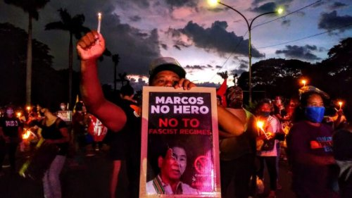 The son of dictator Ferdinand Marcos wants to become the Philippines' next president