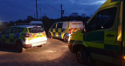 Police called to reports of boat capsizing