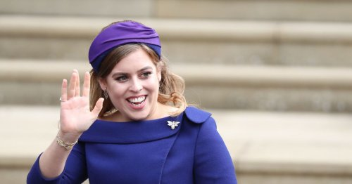 Princess Beatrice waves goodbye to London and hello to Cotswolds
