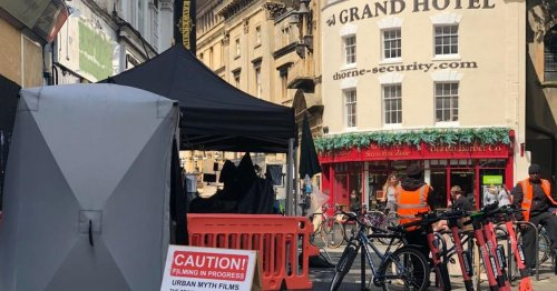 Bristol residents warned over filming dates for War of the Worlds