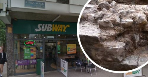 Roman remains found under Subway and Chambers in Gloucester