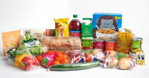 Morrisons makes thousands of £15 food boxes for children