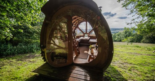 The weirdest places you can stay on holiday in Gloucestershire