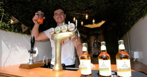 Gloucester Rugby star launches own cider company