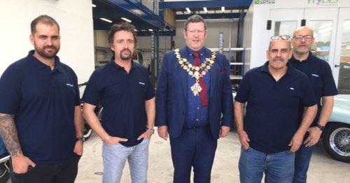 Richard Hammond opens car restoration business for new show