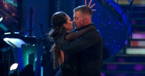 Strictly's Adam Peaty on that 'so saucy' performance with Katya Jones