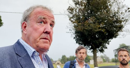 Jeremy Clarkson drives £207k Bentley to Westcountry holiday