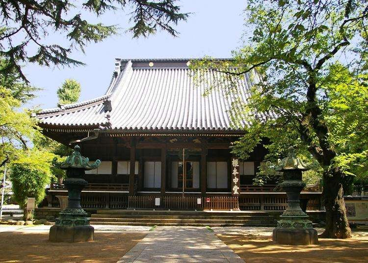 Ueno Temples: Popularity rankings by foreign tourists