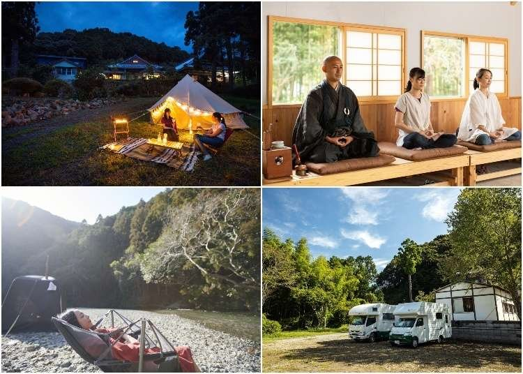 Ever Wanted to Camp at a Japanese Zen Temple? Now You Can!