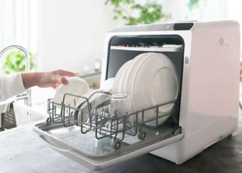 Japan Creates a Dishwasher to Fit in the Tiniest of Tokyo Apartments!
