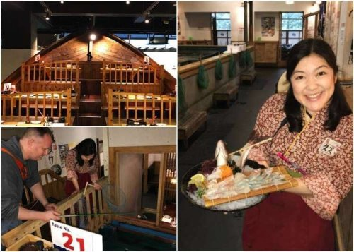 Checking out Restaurant Zauo - The Quirky Tokyo Restaurant Where You Catch Your Own Fish!