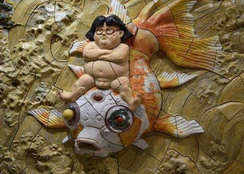 Powerful! Visit CREARE Atami-Yugawara Studio to enjoy ceramic reliefs.