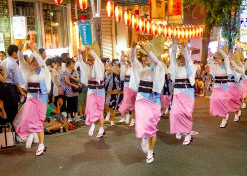 Tokyo Festival Guide: Awa-odori at the Kagurazaka Festival! (July 26-27, 2019)