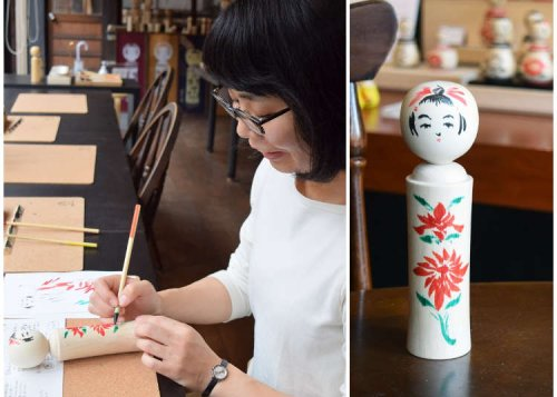 Make Your Own Kokeshi Dolls at Naruko Onsen's Old Shop: The Perfect Souvenir!
