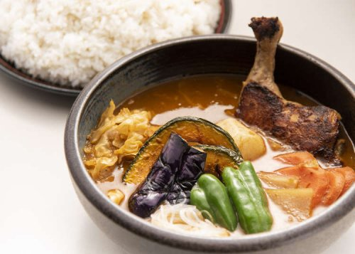 Japan's HUGE Northern Curry Starts With This Crazy Mountain of Rice (& A Fake Beard Discount)