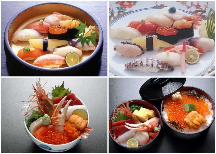 5 Best Otaru Sushi Restaurants for Uni, Seafood & More!