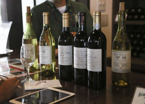 Heard it through the grapevine? Japan's wine capital Koshu Valley is a stone's throw from Tokyo