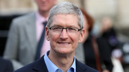 Tim Cook Hints at Apple's Electric Car, Sings Tesla's Praises