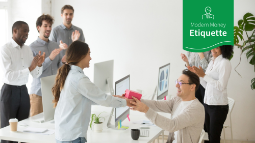 Modern Money Etiquette: Do You Always Have To Pitch In for an Event or Gift at Work?