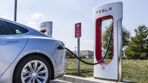 Elon Musk Plans for a Bank of Superchargers in Santa Monica, Tesla Shares Rise