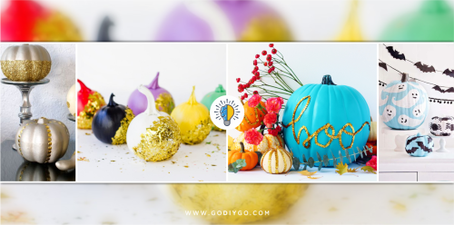 Easy And Elegant Ideas For All Your Glitter Pumpkin Dreams