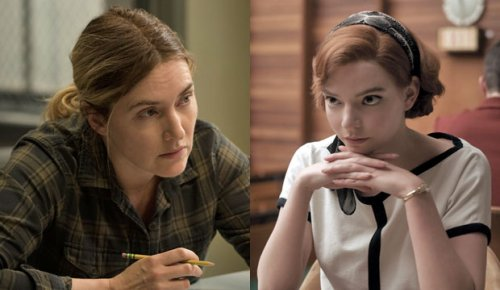 Dueling Emmy predictions for Best Actress: Experts and Editors say Kate Winslet, Top Users say Anya Taylor-Joy