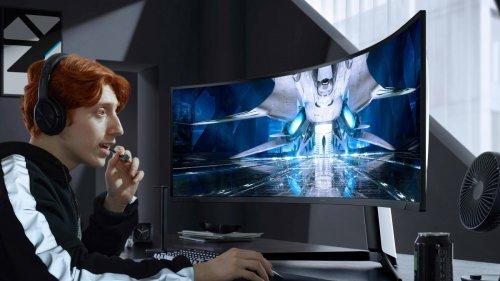 Samsungs ultrabreiter Mini-LED-Monitor kommt im August