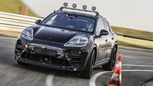Porsche zeigt erste Bilder des Elektro-Macan