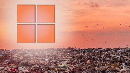 Geplante Obsoleszenz ist schlecht, Microsoft!