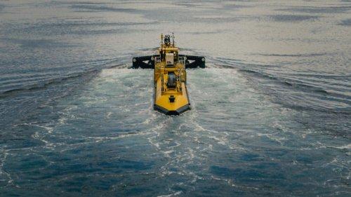 Größte Gezeitenturbine geht vor Schottland in Betrieb