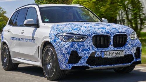 BMW iNext soll ein Brennstoffzellen-Auto werden