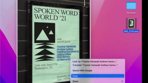 MacOS Monterey nun doch mit Live Text für Intel-Macs