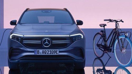 Mercedes verbindet E-Bikes und E-Auto zum Abo