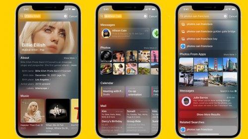 iOS 15 mit Focus, OCR und schickem Facetime