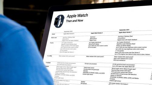 Apple Watch Series 7 ist alter Wein in neuen Schläuchen