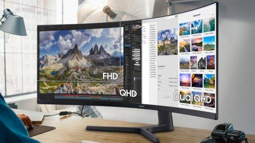 Samsung stellt 49-Zoll-Ultrawide-Monitor mit KVM-Switch vor